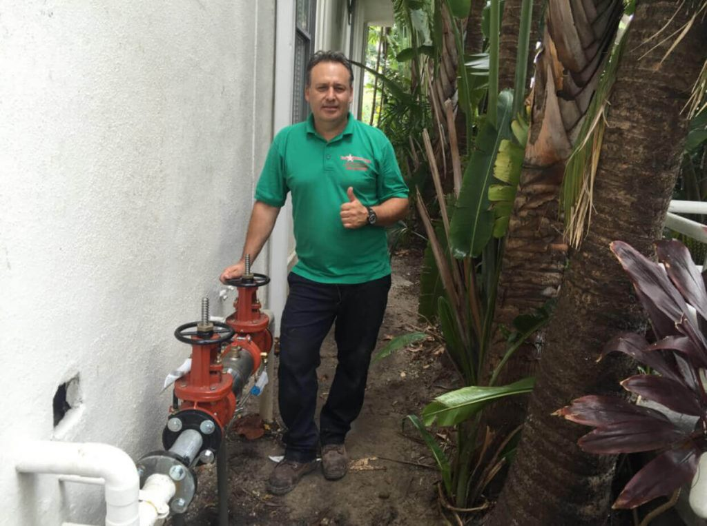 Backflow Pipe Repair Miami Beach