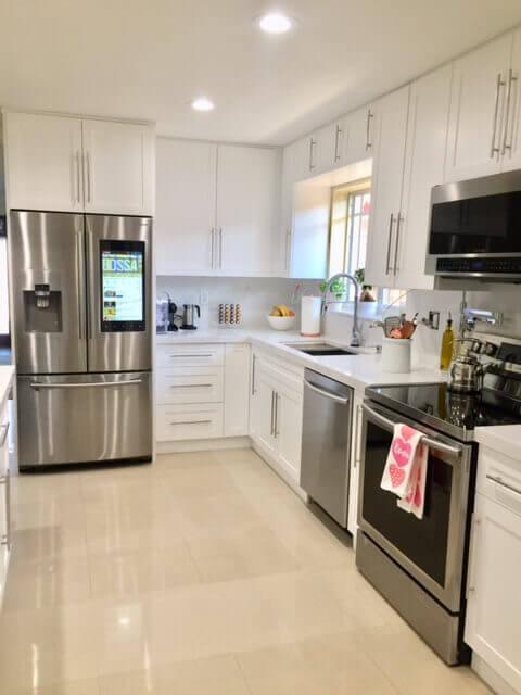 Miami Beach Kitchen Renovation Residence