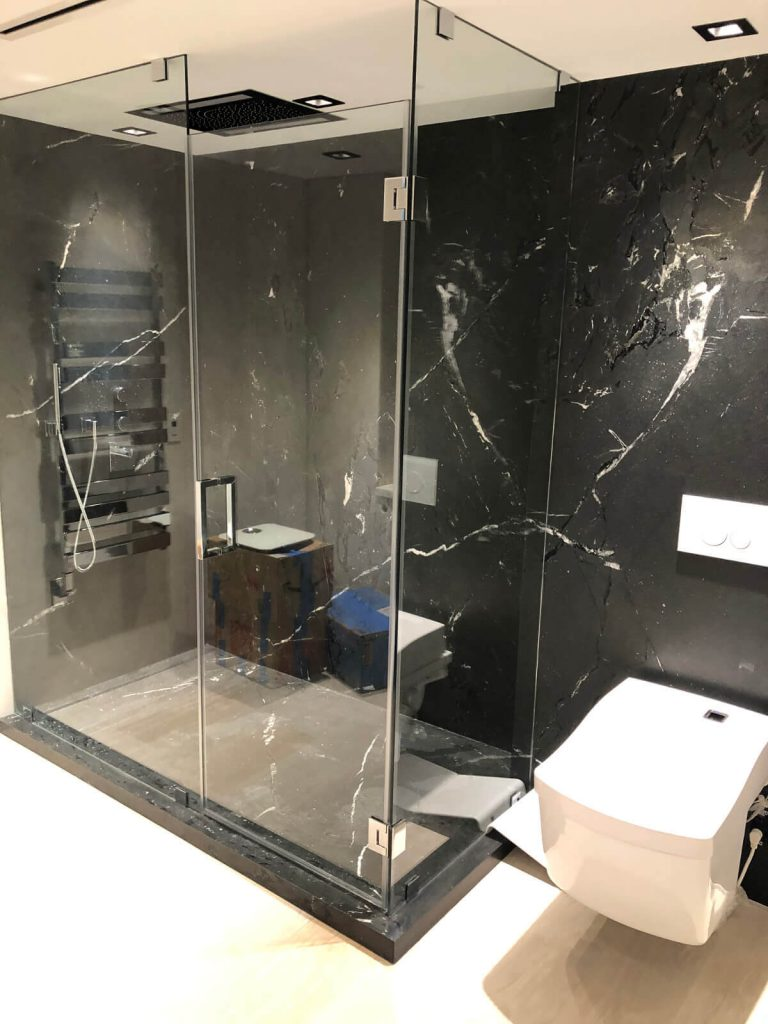 Miami Beach Villagio Condominium Master Bathroom Renovation