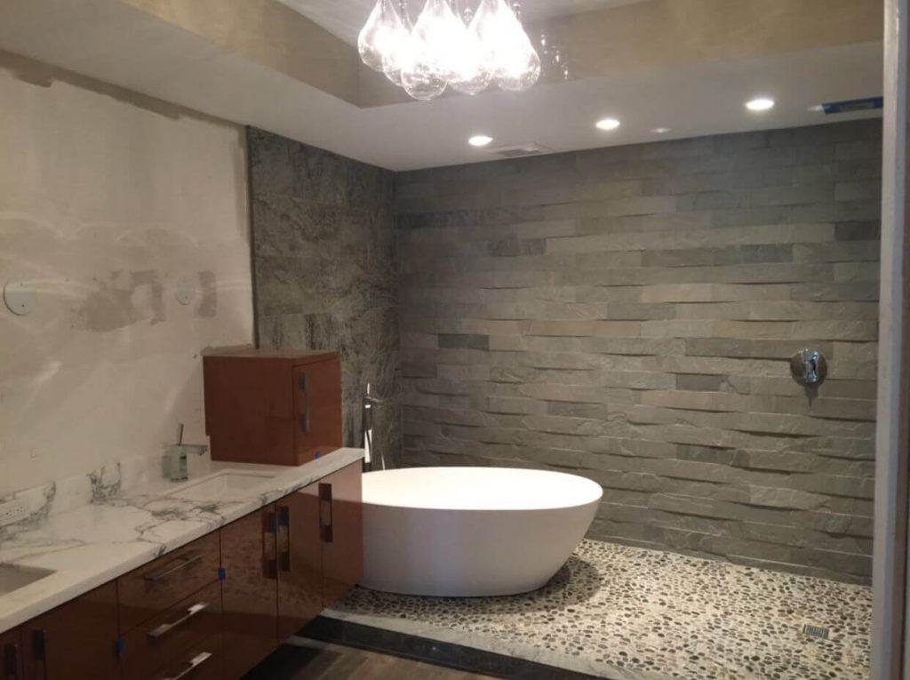 New kitchen and bathroom Brickell Key