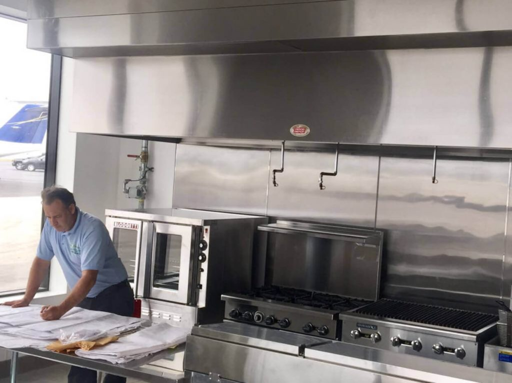 New restaurant Opa Locka private airport
